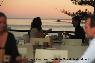 waterfront dining in Caloundra