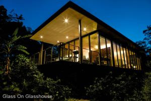 Glass on Glasshouse Accommodation