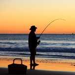 Fishing at Sunset - Picture Tour